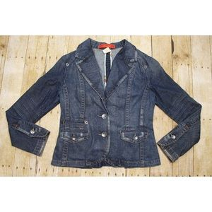 Anthropology Womens S Level 99 Jacket Distressed